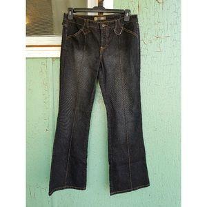😎VTG 90s LEI Flare Bootcut Denim Jeans NWOT